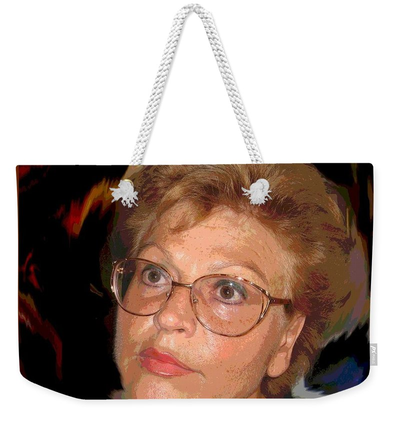 Self Portrait Weekender Tote Bag featuring the photograph self portrait I by Dragica Micki Fortuna