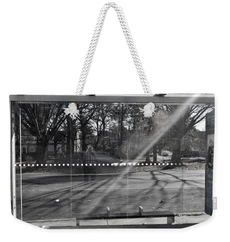 Long Exposure Weekender Tote Bag featuring the photograph Self Portrait by Wayne Schmitt