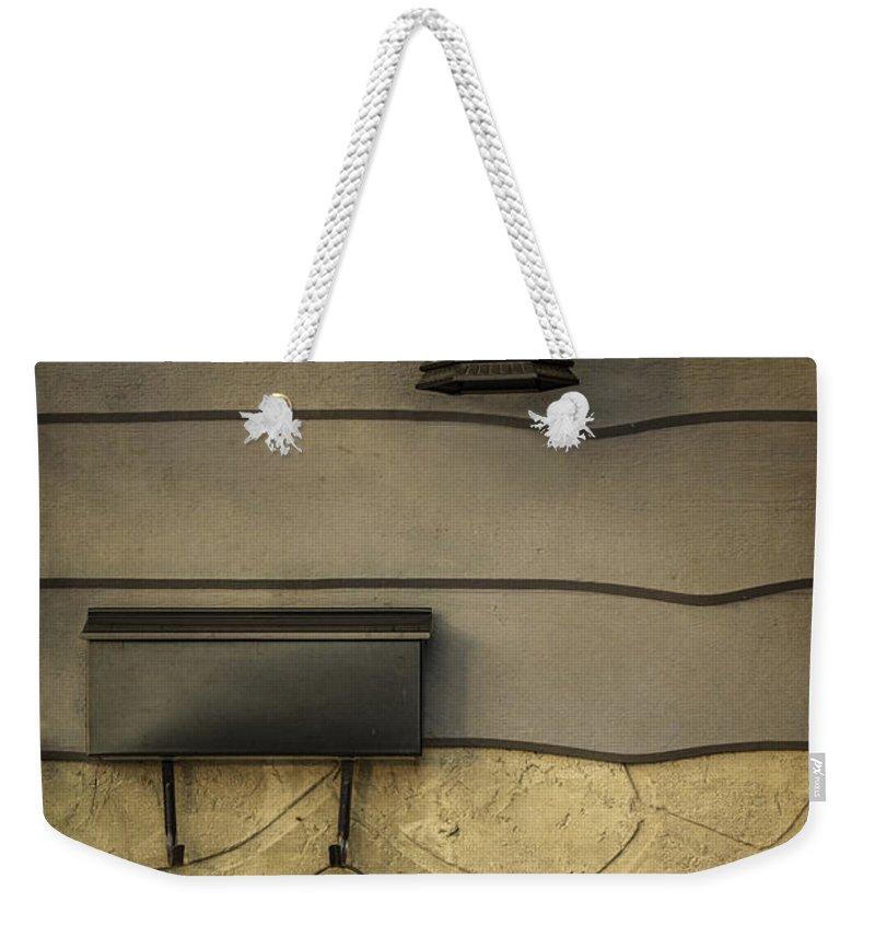 Outside Weekender Tote Bags