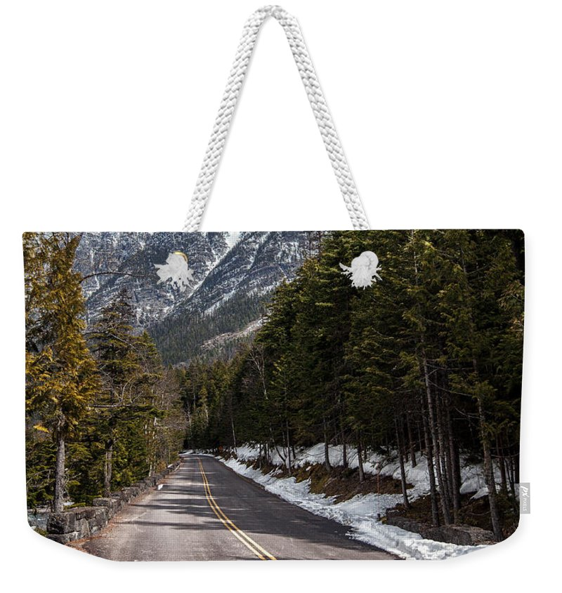 Road Weekender Tote Bag featuring the photograph Sentimental Journey by Aaron Aldrich