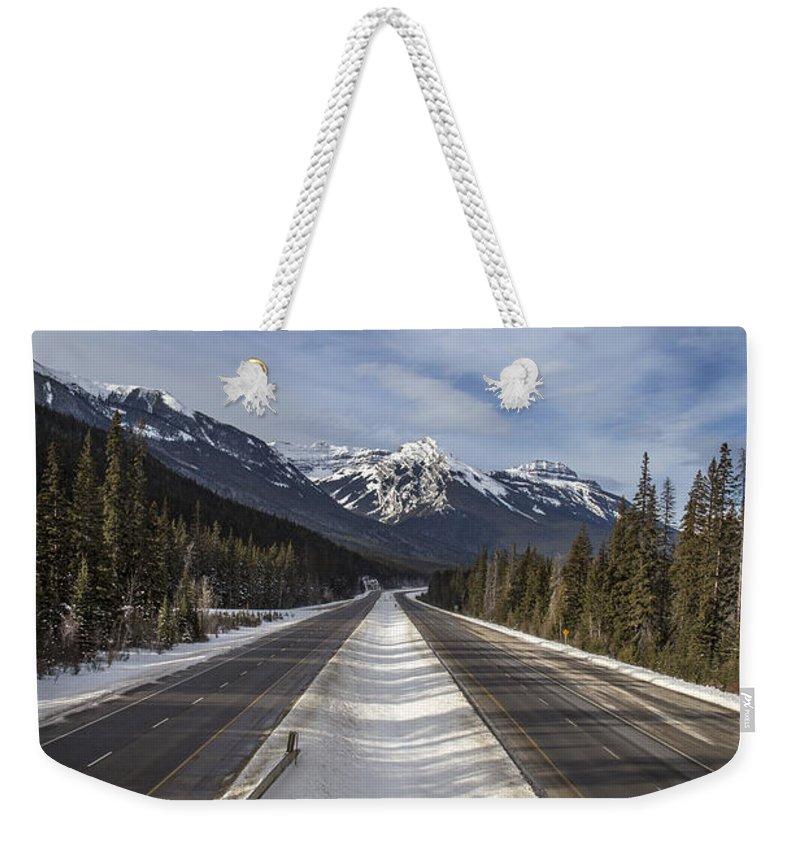 Canadian Landscape Weekender Tote Bags