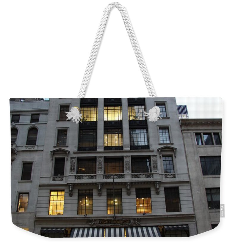 House Weekender Tote Bag featuring the photograph Sephora House - 5th Ave Nyc by Christiane Schulze Art And Photography