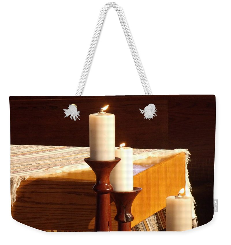 David S Reynolds Weekender Tote Bag featuring the photograph Serenity by David S Reynolds