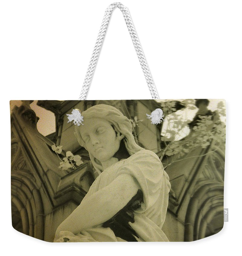 Infrared Photograph Weekender Tote Bag featuring the photograph Serenity Now by Gothicrow Images