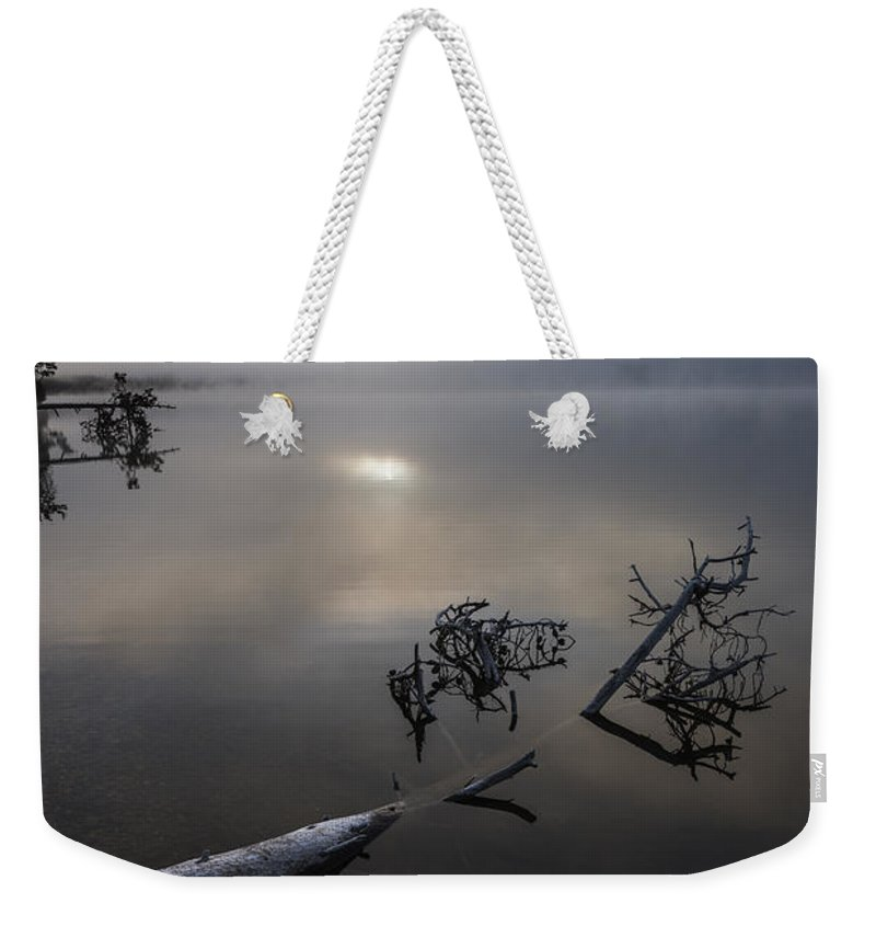 Serene Weekender Tote Bag featuring the photograph Serenity by Vishwanath Bhat