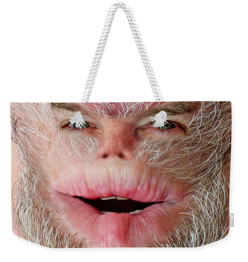 Harry Weekender Tote Bag featuring the photograph Serious Harry by Duane McCullough