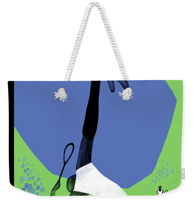 143402 Weekender Tote Bag featuring the photograph Serve by Christoph Niemann