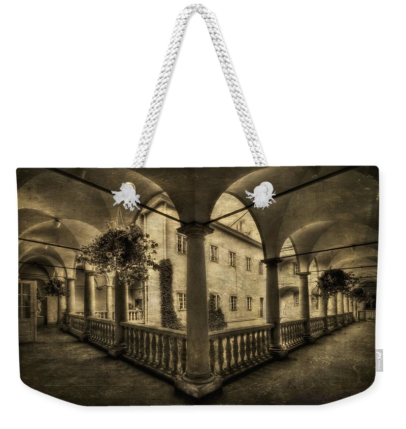 Arch Weekender Tote Bag featuring the photograph Set Me Free by Evelina Kremsdorf