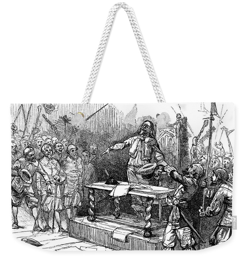 1690 Weekender Tote Bag featuring the painting Seth Sothell, 1690 by Granger