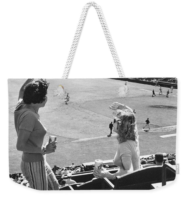 1958 Weekender Tote Bags