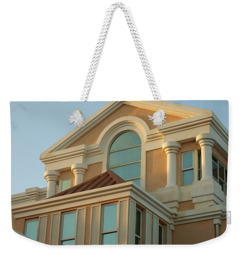 Weekender Tote Bag featuring the photograph Sgu Library by Katerina Naumenko