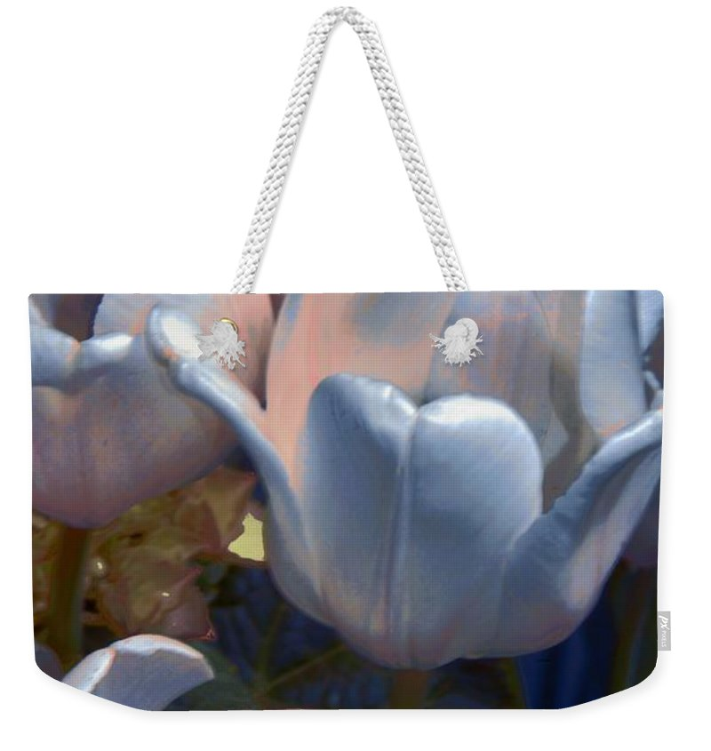 Flower Weekender Tote Bag featuring the photograph Shades Of Color by Kathleen Struckle