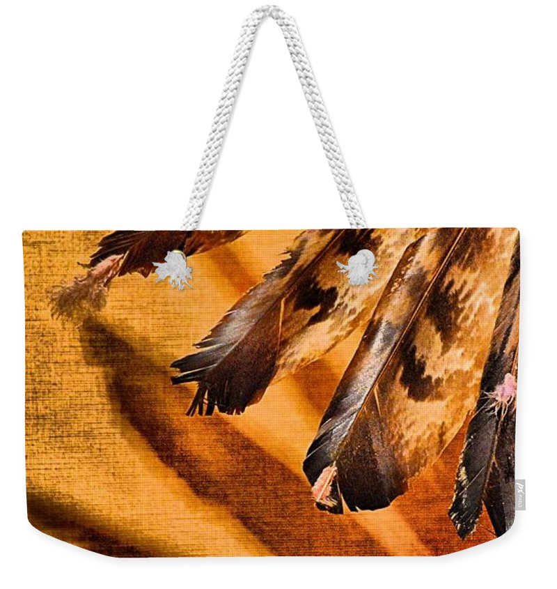 Abstract Weekender Tote Bag featuring the photograph Shadowed Heritage by Lauren Leigh Hunter Fine Art Photography