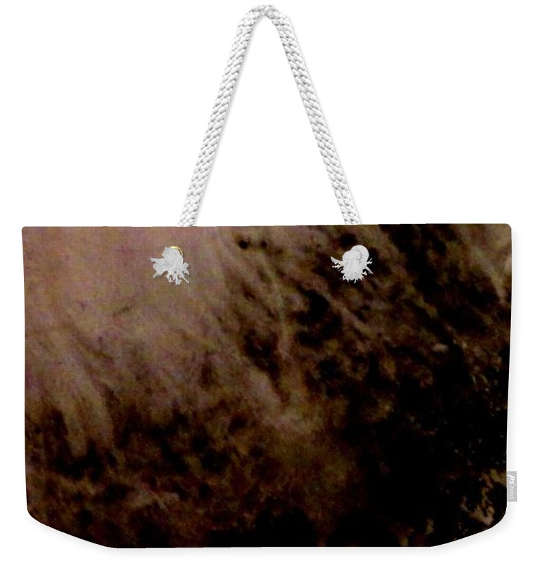 Sheep Dog Weekender Tote Bag featuring the painting Sheep Dog by Mike Breau