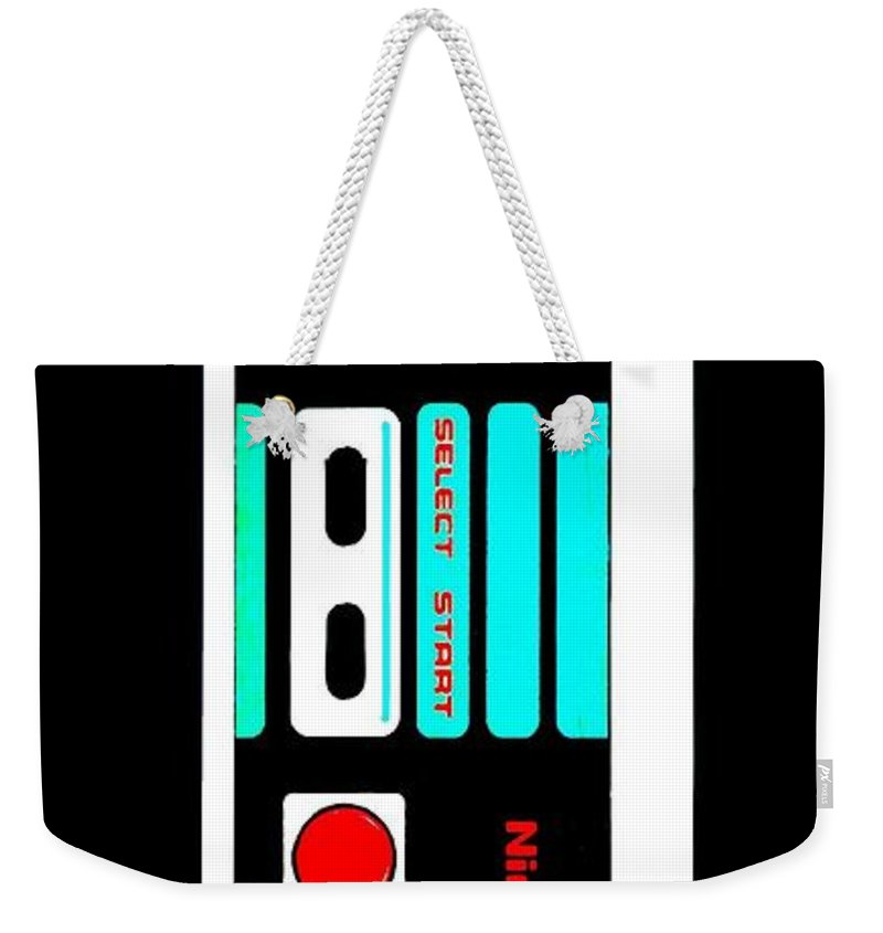 Iphone Weekender Tote Bag featuring the photograph Shigeru's Phone by Benjamin Yeager