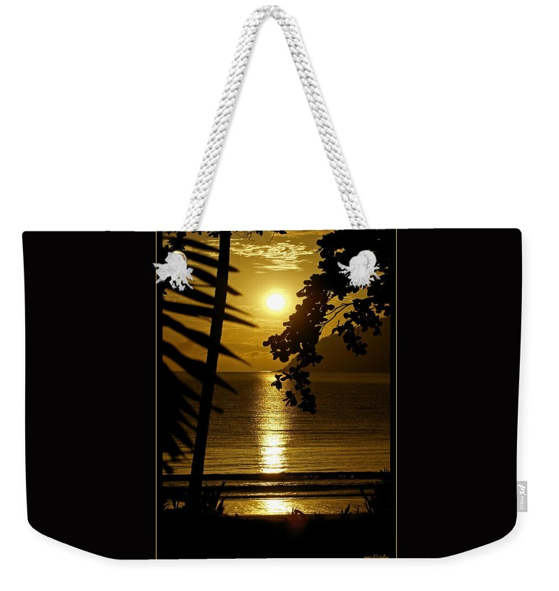 Landscapes Weekender Tote Bag featuring the photograph Shimmer by Holly Kempe