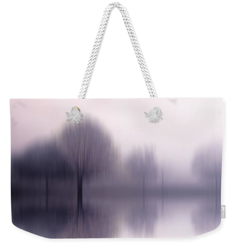 Trees Weekender Tote Bag featuring the photograph Shiver by Jessica Jenney