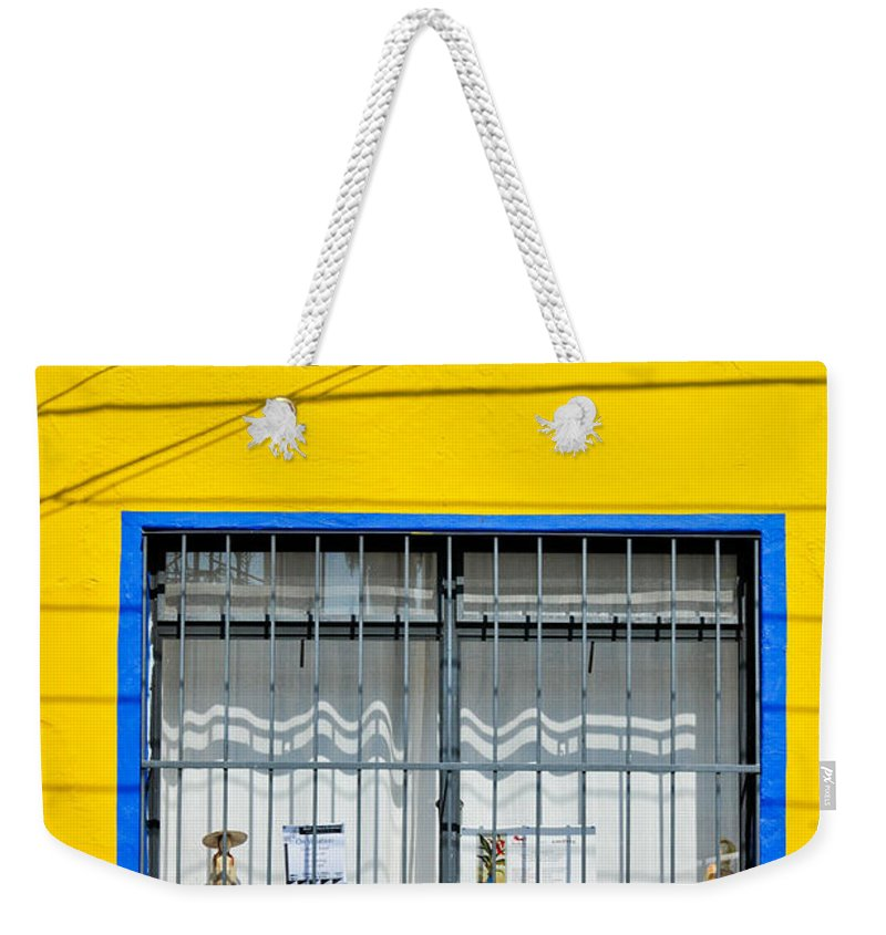Mexico Weekender Tote Bag featuring the photograph Shop Window - Mexico - Photograph By David Perry Lawrence by David Perry Lawrence