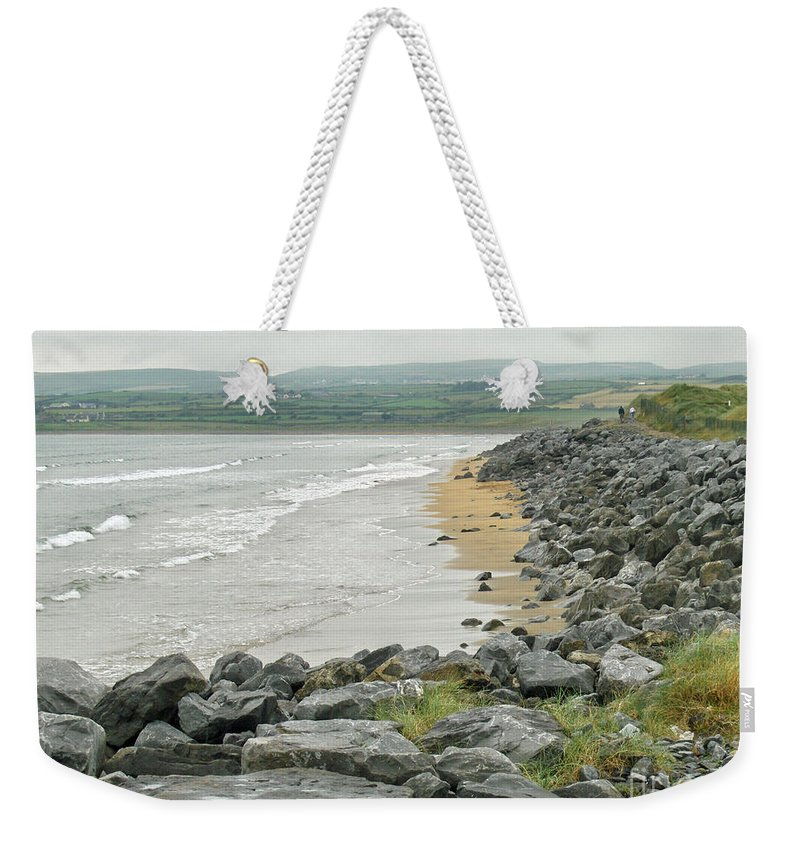 Ireland Weekender Tote Bag featuring the photograph Shores Of Ireland by Brenda Brown