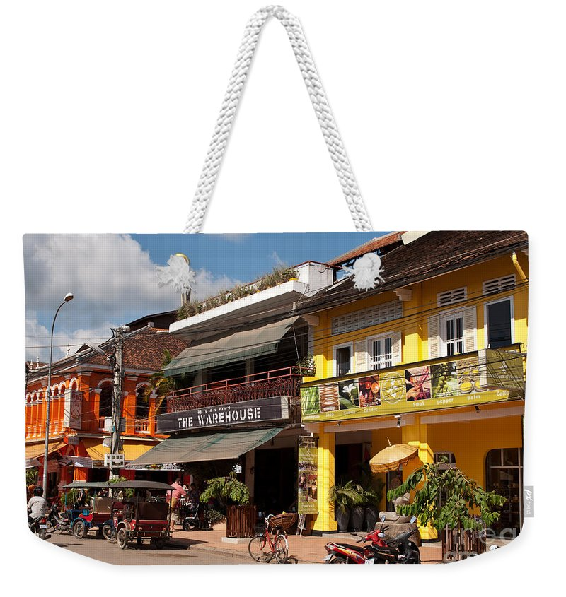 Cambodia Weekender Tote Bag featuring the photograph Siem Reap 02 by Rick Piper Photography