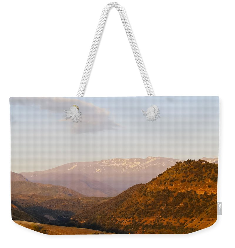 Andalucia Weekender Tote Bag featuring the photograph Sierra Nevada by Karol Kozlowski