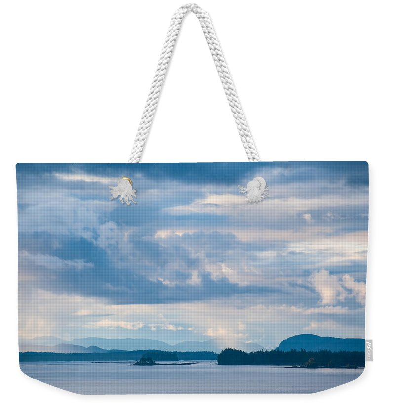 Alaska Weekender Tote Bag featuring the photograph Silent Beauty by Zina Zinchik