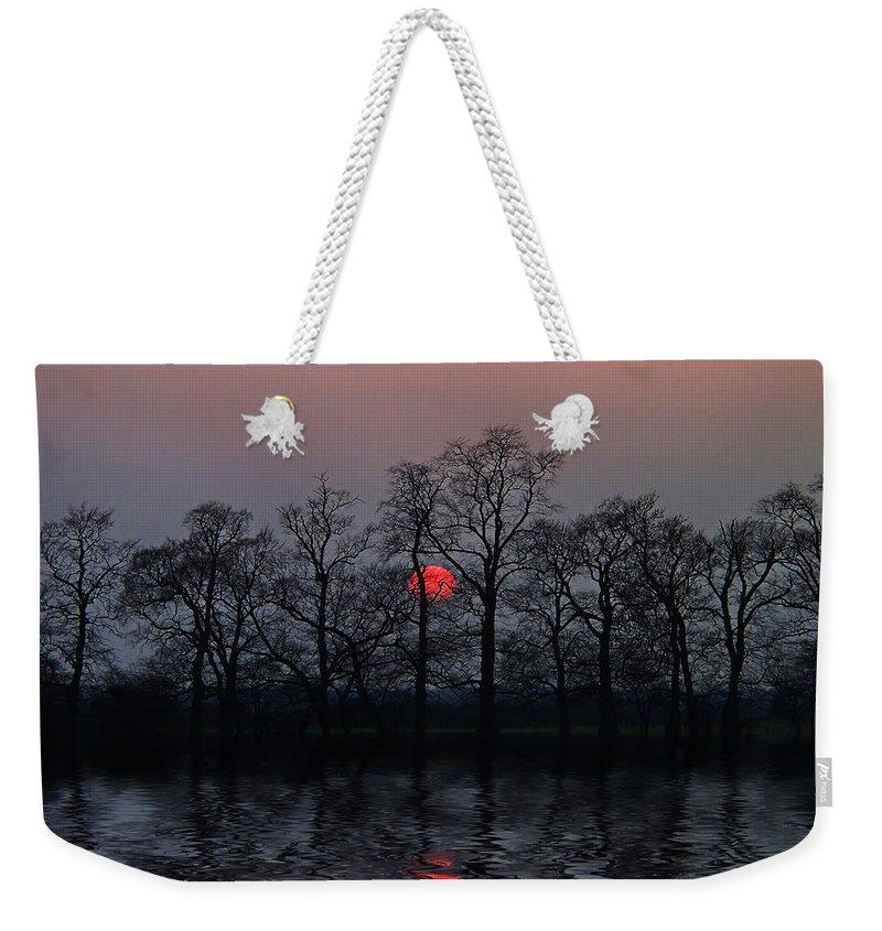 Sun Weekender Tote Bag featuring the photograph Silent Sun by Joachim G Pinkawa
