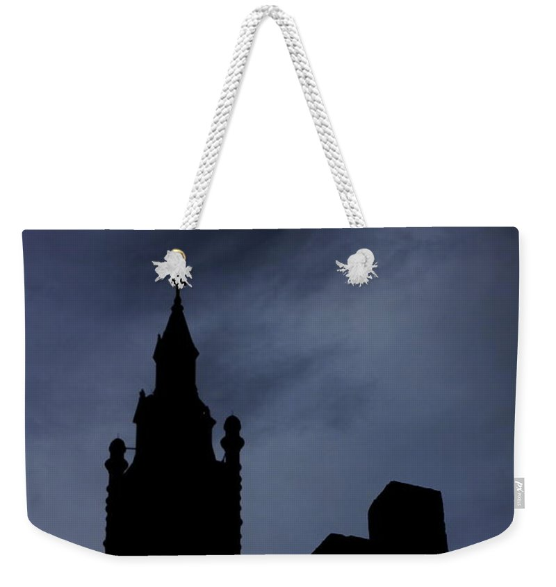 Silhouette Weekender Tote Bag featuring the photograph Silhouette Of St. Joseph by Brook Steed