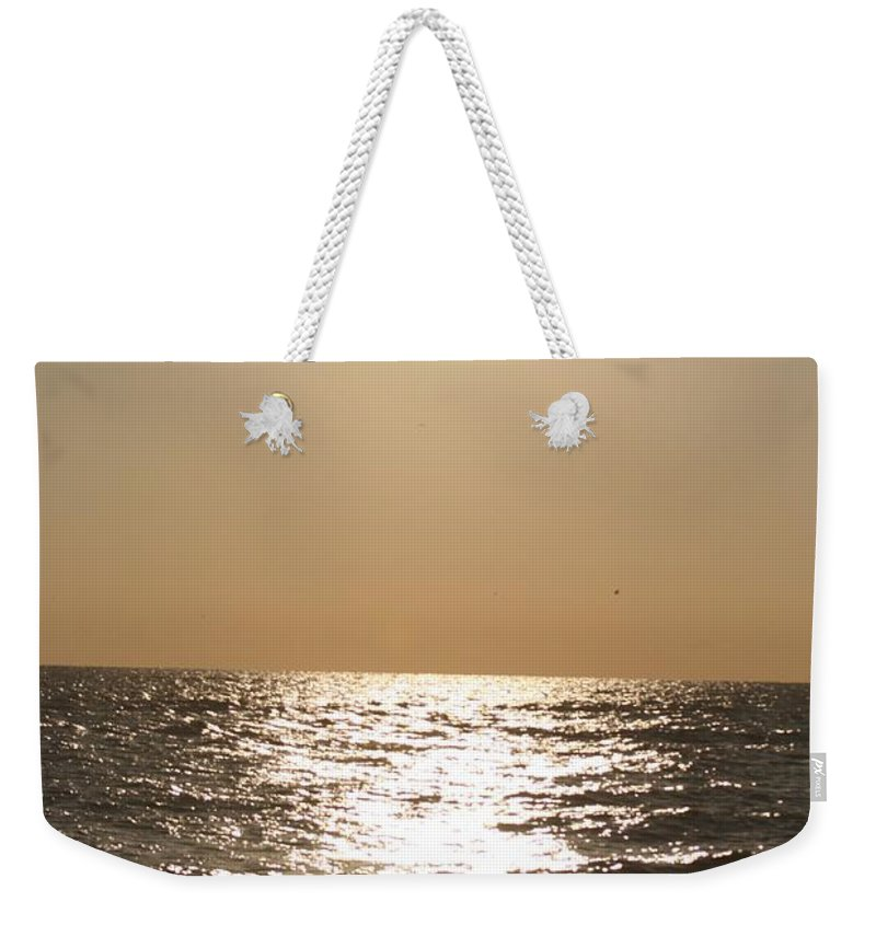 Silver Weekender Tote Bag featuring the photograph Silver And Gold by Nadine Rippelmeyer