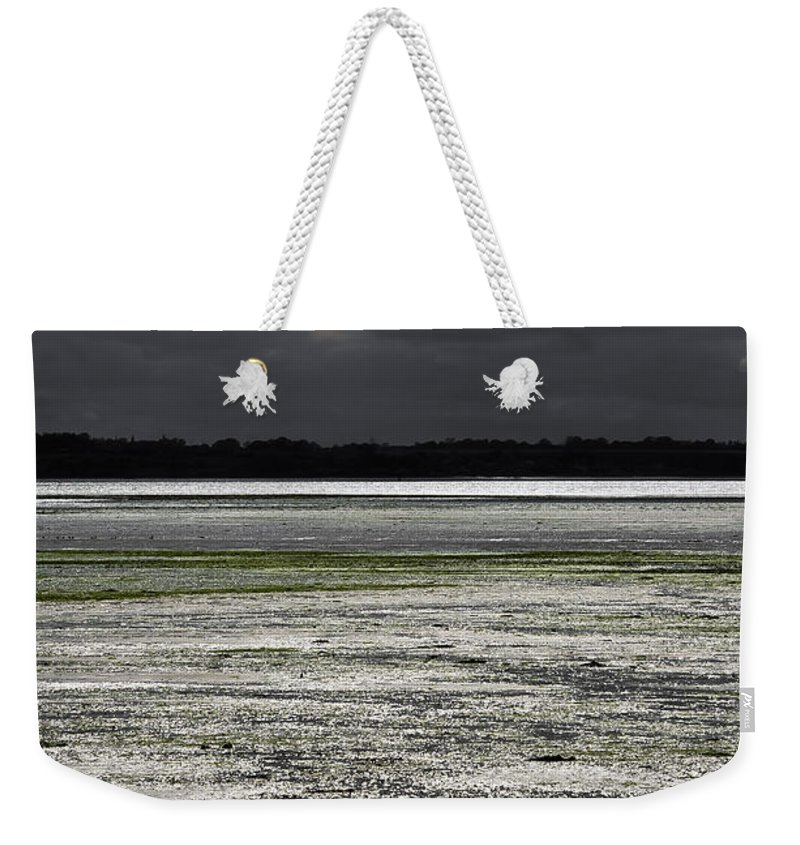 Bay Weekender Tote Bag featuring the photograph Silver Breeze by Svetlana Sewell