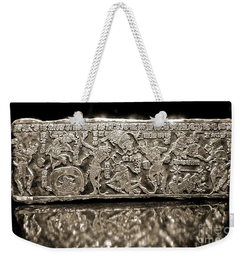 Silver Weekender Tote Bag featuring the photograph Silver by John Malone