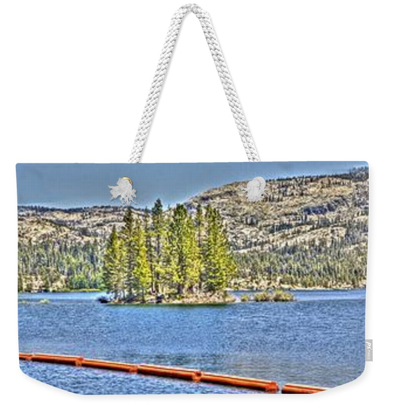 Lake Weekender Tote Bag featuring the photograph Silver Lake 2 by SC Heffner