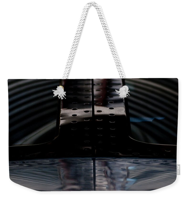 Windscreen Weekender Tote Bag featuring the photograph Silver by Paul Job