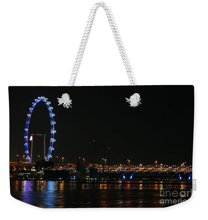 Singapore Weekender Tote Bag featuring the photograph Singapore 2 by Ben Yassa