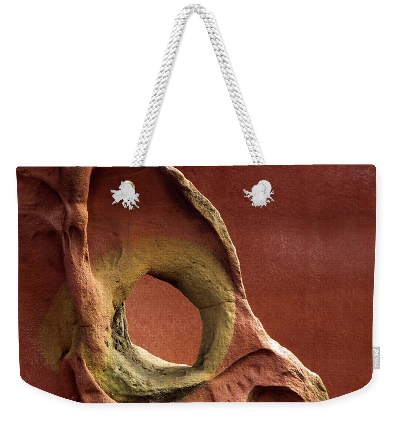 Geology Weekender Tote Bag featuring the photograph Sinister Forms by By Mediotuerto
