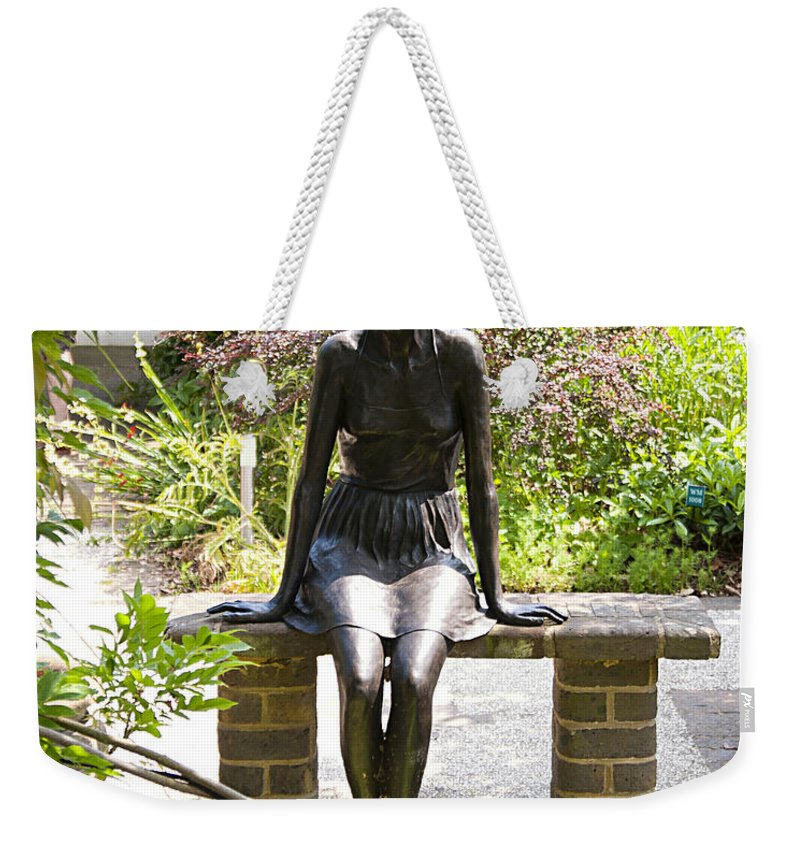 Bronze Weekender Tote Bag featuring the photograph Sitting Pretty by Peter Lloyd