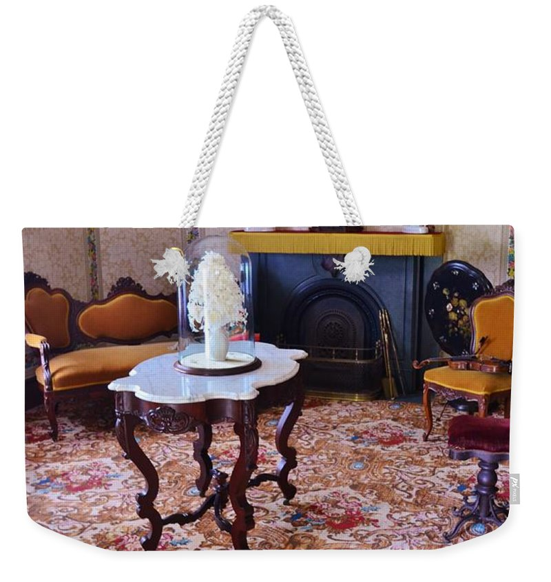 #sitting Weekender Tote Bag featuring the photograph Sitting Room by Kathleen Struckle
