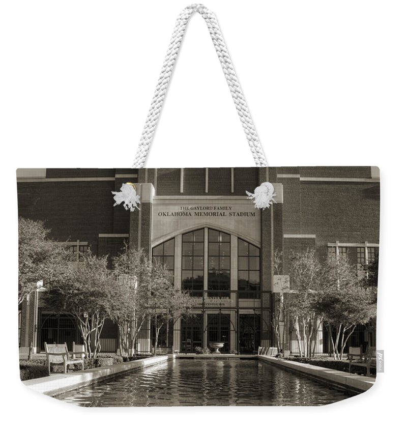 Oklahoma Weekender Tote Bag featuring the photograph Six Thirty Three by Ricky Barnard