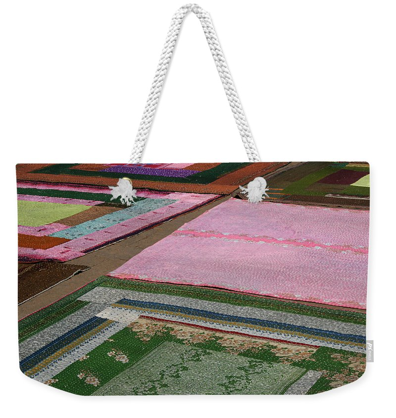 Color Weekender Tote Bag featuring the photograph Skc 0373 Color Spread by Sunil Kapadia