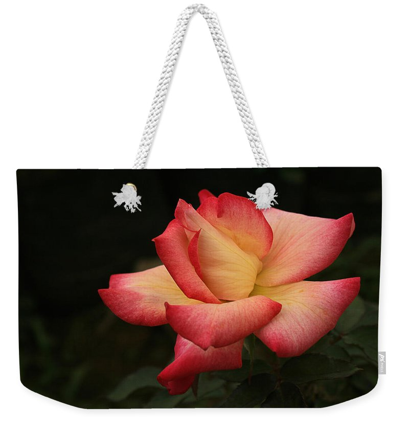 Flower Weekender Tote Bag featuring the photograph Skc 0432 Blooming And Blossoming by Sunil Kapadia