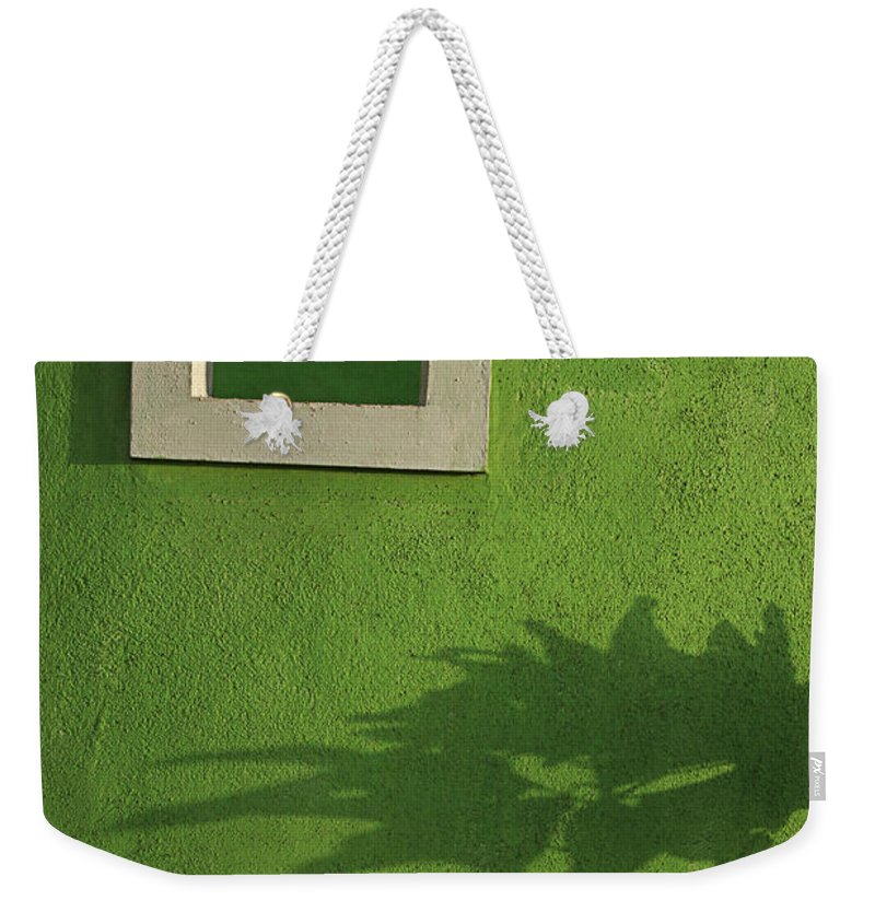 Abstract Weekender Tote Bag featuring the photograph Skc 0682 Nature In Shadow by Sunil Kapadia