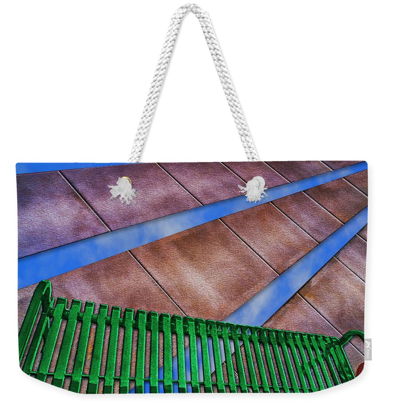 Photography Weekender Tote Bag featuring the photograph Sky Park by Paul Wear