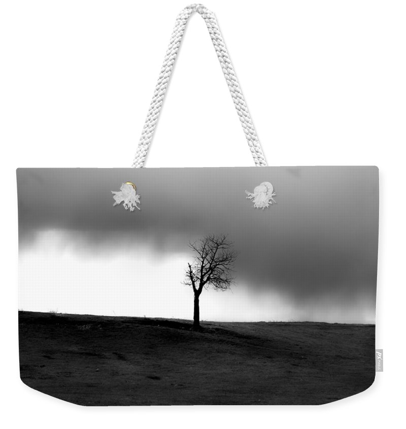 Sky Weekender Tote Bag featuring the photograph Sky That Tears by The Artist Project