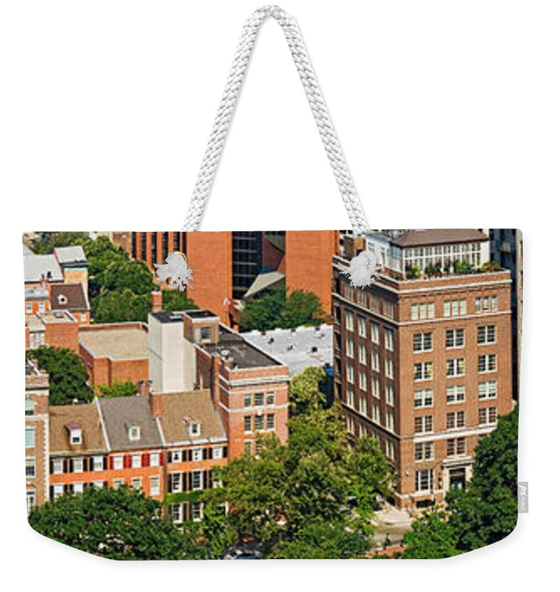 Photography Weekender Tote Bag featuring the photograph Skyscrapers In A City, Washington by Panoramic Images