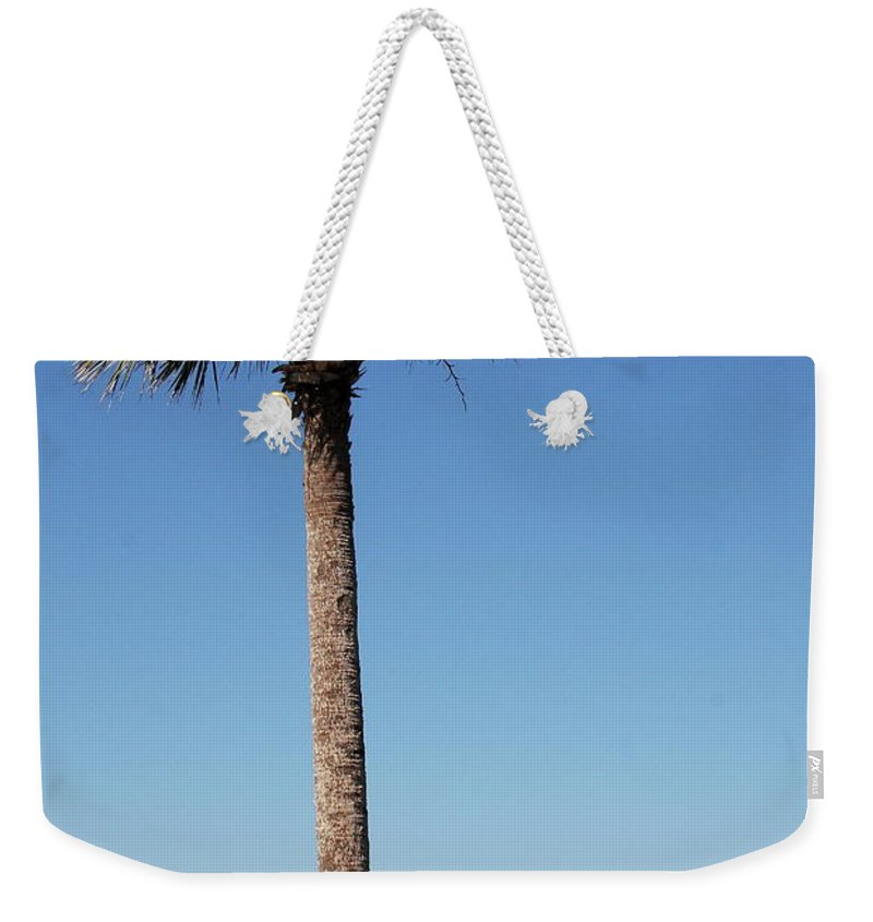 Sskyway Bridge Weekender Tote Bag featuring the photograph Sunshine Skyway Bridge by Christiane Schulze Art And Photography