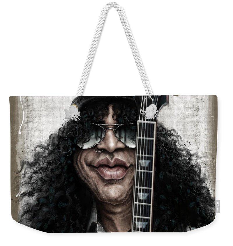 Music Rock Guns N Roses Weekender Tote Bags