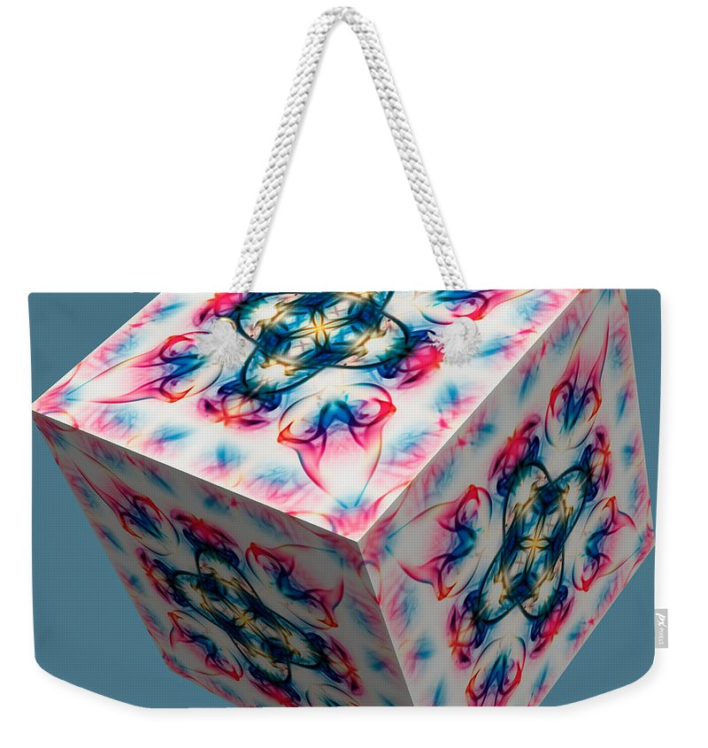 Smoking Trails Weekender Tote Bag featuring the photograph Smoke 3d 2 by Steve Purnell