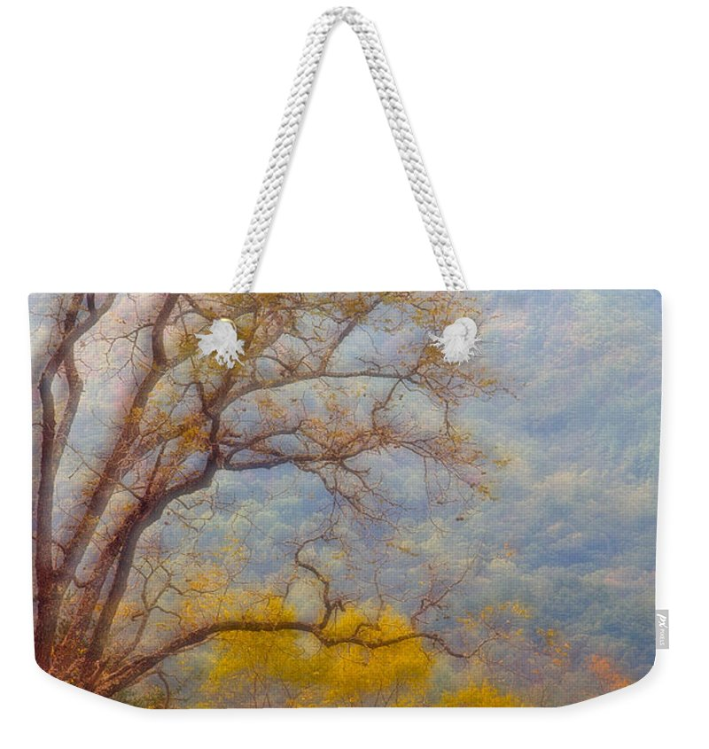 Smokey Mountains Weekender Tote Bag featuring the photograph Smokeys Dreamscape by Sharon M Connolly