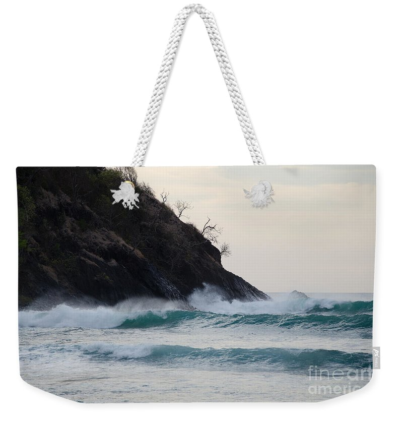 Smugglers Cove Weekender Tote Bag featuring the photograph Smugglers Cove by Laurel Best