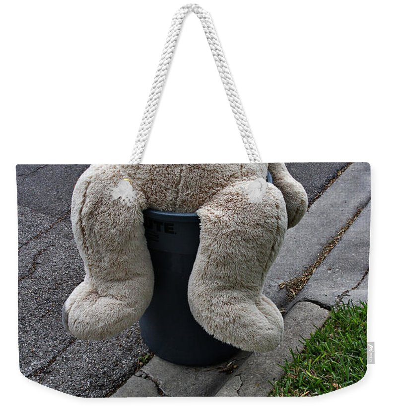 Sad Weekender Tote Bag featuring the photograph So Sad by Gary Richards